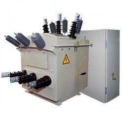 Пункт секционирования и учета электроэнергии ПСС -10-СУ